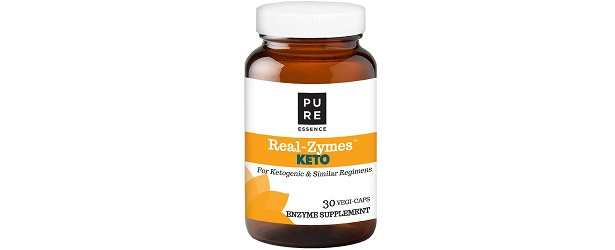 Pure Essence Labs Real-Zymes Keto Digestive Enzymes Review