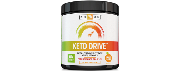 Zhou Nutrition Keto Drive Review